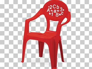 Chair Table Plastic Child Garden Furniture PNG