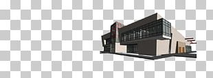 SolidWorks House Building Architecture Drawing PNG