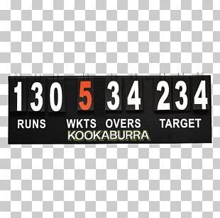 Scoreboard Cricket Brand Australian Football League Font PNG