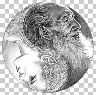 Yin And Yang Drawing Gorilla Art Sketch PNG