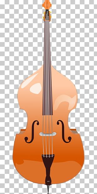 Double Bass Bass Guitar String Instruments PNG