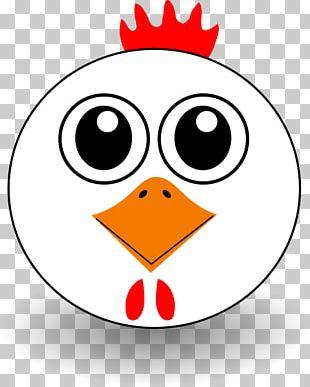 Chicken Cartoon Face PNG