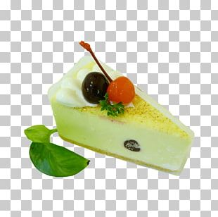 Custard Cherry Cake Torte Cream Pie Pastel PNG