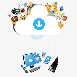 Cloud Computing Technology Era PNG