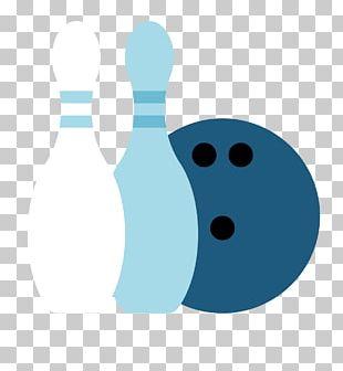 Bowling Ball Bowling Pin Pattern PNG
