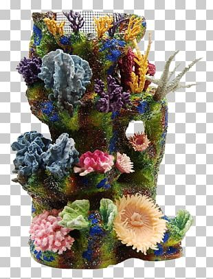 Coral Reef Artificial Reef Aquarium PNG