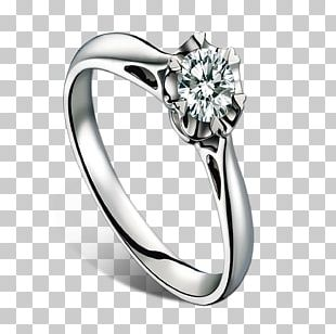 Ring Diamond Jewellery Brilliant PNG