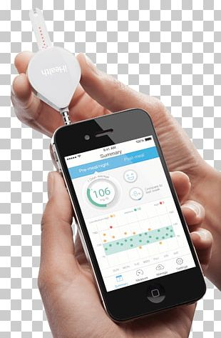 Smartphone Blood Glucose Meters Blood Glucose Monitoring Glucose Test PNG