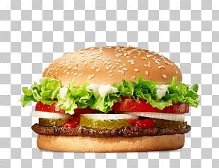 Whopper Hamburger Cheeseburger Fast Food KFC PNG