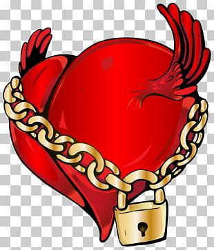 Locked Heart PNG