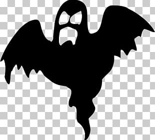 Halloween Silhouette Ghost PNG