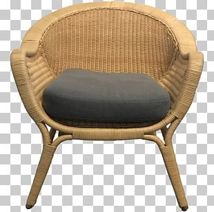 Chair Rattan Furniture Wicker PNG
