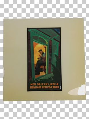 New Orleans Jazz & Heritage Festival Blue Note Poster PNG