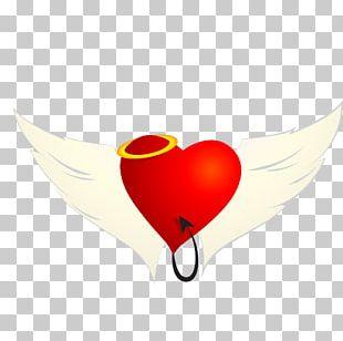 Love Heart Wings PNG
