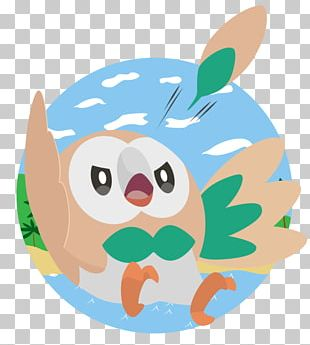 Pokémon Sun And Moon Rowlet PNG