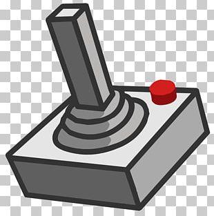 Atari CX40 Joystick Game Controllers Atari 2600 Arcade Game PNG