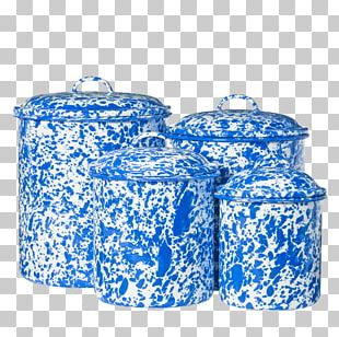 Food Storage Containers Cobalt Blue PNG