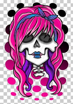Human Skull Symbolism Drawing Art Rockabilly PNG