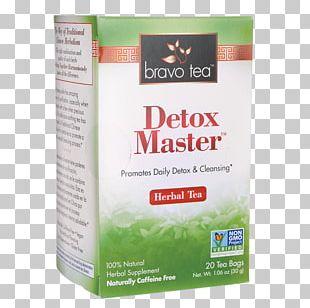 Herbal Tea Detoxification Tea Bag Product PNG