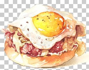 Breakfast Sandwich Egg Sandwich Fried Egg PNG