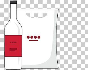 Red Wine Glass Bottle Liqueur PNG