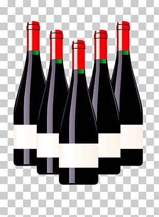 Red Wine White Wine Bottle Beer PNG