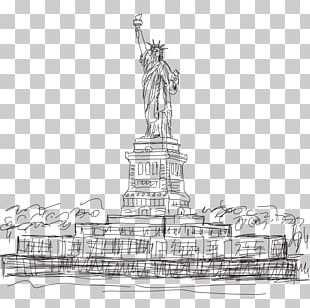 Statue Of Liberty Statue Of Freedom Drawing PNG