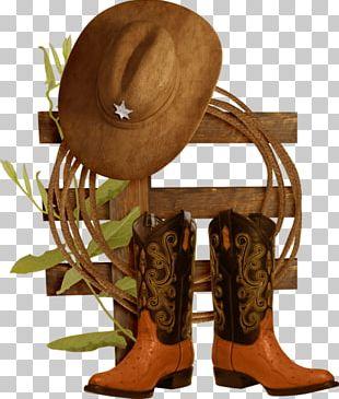 Hat 'n' Boots Cowboy Boot Cowboy Hat PNG