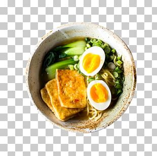 Japanese Cuisine Ramen Vegetarian Cuisine Tofu Miso Soup PNG