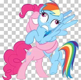 Rainbow Dash Pinkie Pie Hug Pony Fluttershy PNG