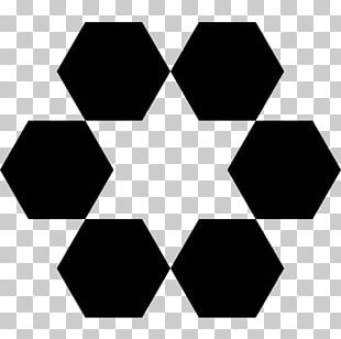 Sierpinski Triangle Hexagon Fractal Polygon Geometry PNG