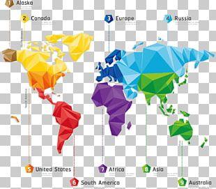 World Map Illustration PNG
