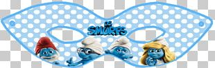 The Smurfs Anniversary Birthday Party PNG