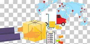 Logistics Management E-commerce Graphic Design PNG