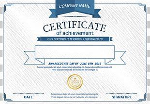 Template Diploma Academic Certificate PNG