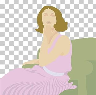 Woman Cartoon Illustration PNG