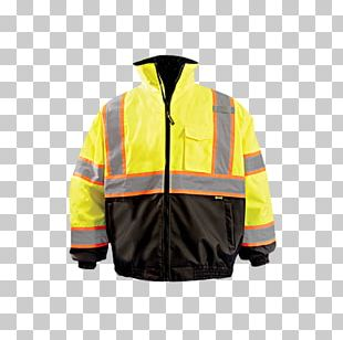 Flight Jacket High-visibility Clothing Coat PNG