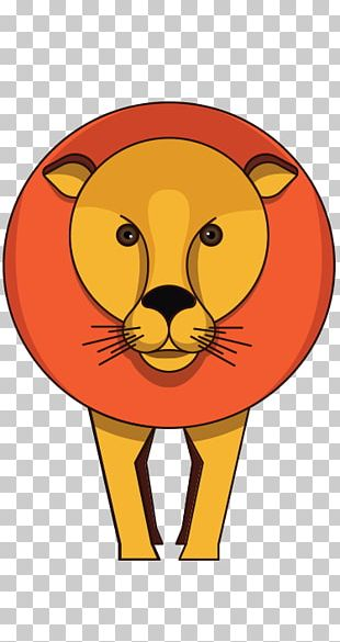 Lion Illustration Drawing Zoo PNG