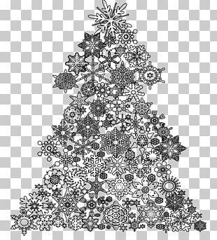 Christmas Tree Santa Claus Christmas Card Drawing PNG