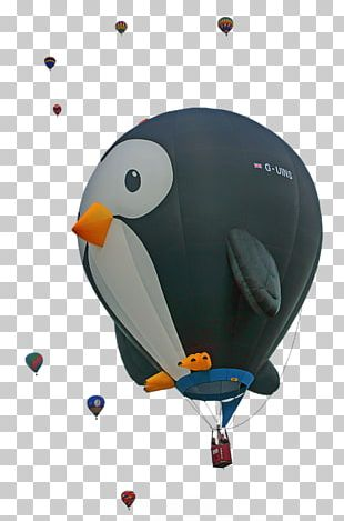 Albuquerque International Balloon Fiesta Hot Air Balloon Penguin Art PNG