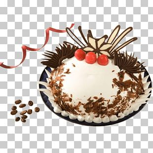 Black Forest Gateau Chocolate Cake Torte Cream Pie Bakery PNG
