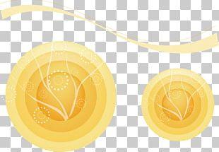 Yellow Commodity Circle Font PNG