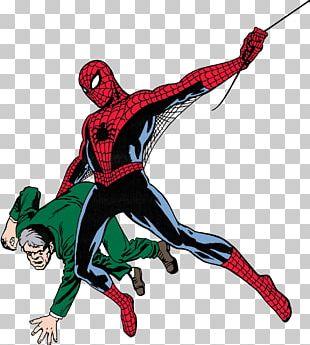 Spider-Man Ben Parker Amazing Fantasy Marvel Comics Comic Book PNG