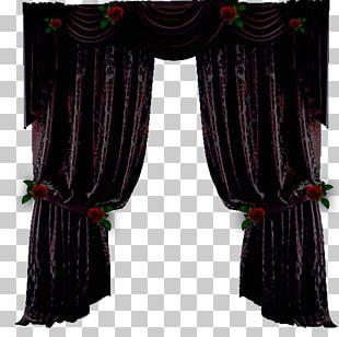 Window Treatment Curtain Drapery PNG