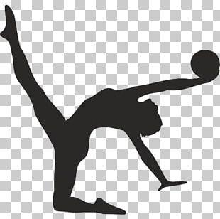 Rhythmic Gymnastics Sport Ball Silhouette PNG