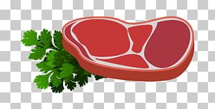 Barbecue Red Meat Steak Wine PNG