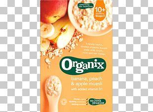 Muesli Breakfast Cereal Organic Food Baby Food Banana PNG