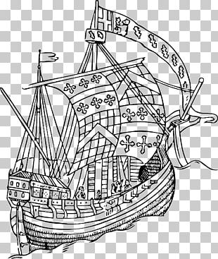 15th Century All About Ships: With Four Colour Plates And A Large Number Of Drawings And Photographs Sailing Ship PNG