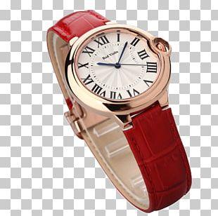 Watch Strap Leather Quartz Clock Apple Watch PNG