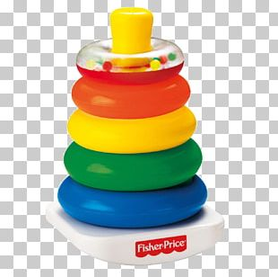 Rock-a-Stack Fisher-Price Toy Infant Child PNG